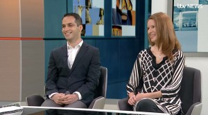 Ali and Sonia talk about the successful kidney transplant on British television!